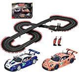 Carrera 20023628 Double Victory Digital 124 Slot Car Racing Track Set System 1:24 Scale, Multi