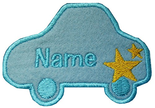 Parche bordado coche bordado personalizado nombre