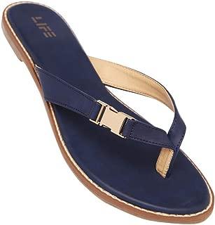 Life Womens Casual Wear Slip On Flats_Blue