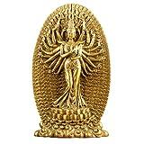 MHUI Estatua de Buda Feng Shui de la Suerte y la Felicidad, Estatua de Buda Guanyin de mil Manos, Estatua de Dios de la Fortuna, decoración del hogar, Regalo de inauguración de la casa