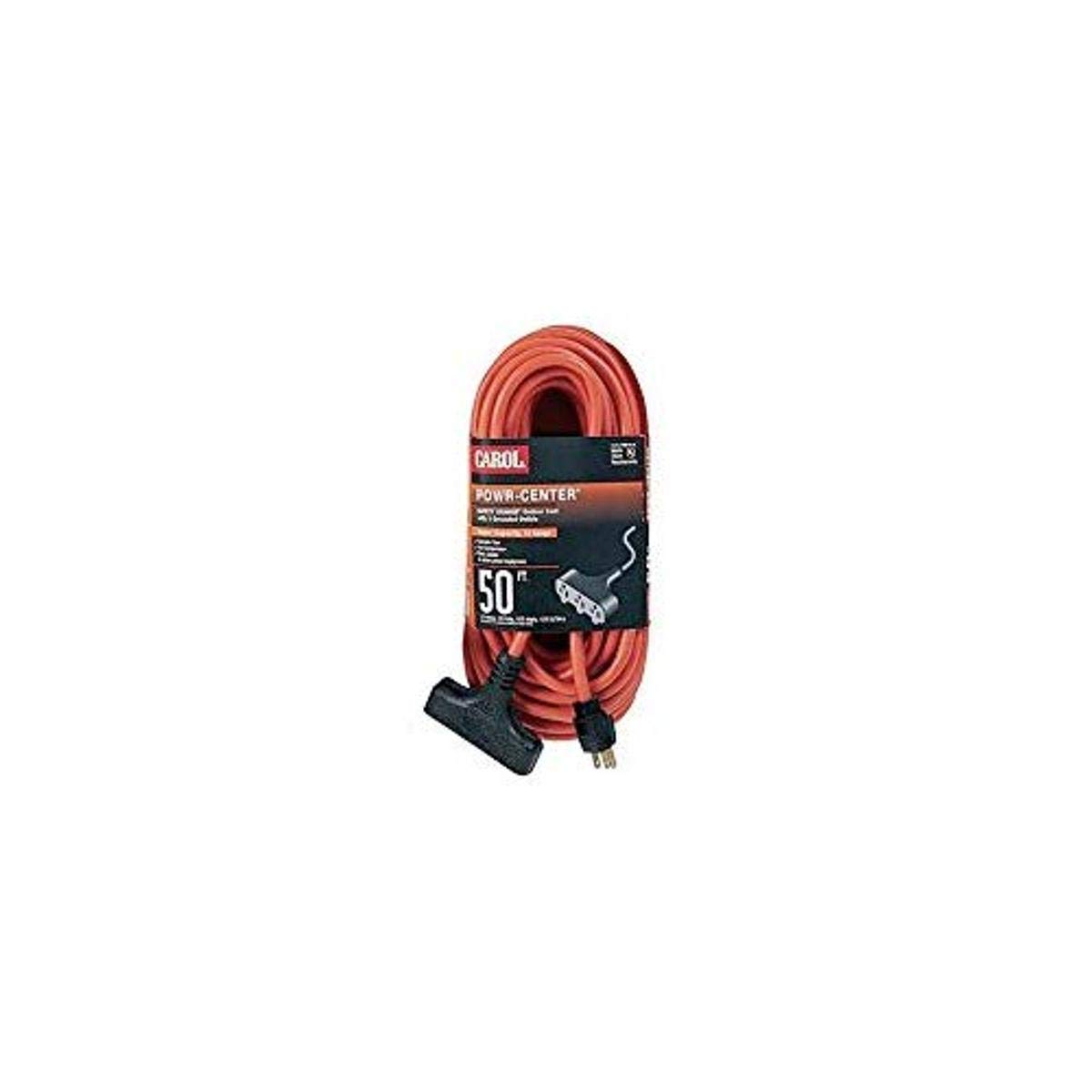 discount 3-Outlet Outdoor Powr-Center Extension AWG Cord 3-Conductor 14 2021 model