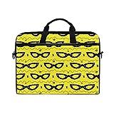 Buyxbn - Bolsa para gafas de verano, color amarillo