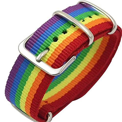 yxx Paare Freundschaft Armbänder Nepal Rainbow Lesben Schwule Bisexuelle Transgender Armbänder Für Frauen Mädchen Stolz Gewebt Geflochtene Männer Paar Freundschaft Schmuck