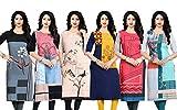 Navlik Women\s Crepe Kurta (FT-123DEF, Multicolor, Medium)