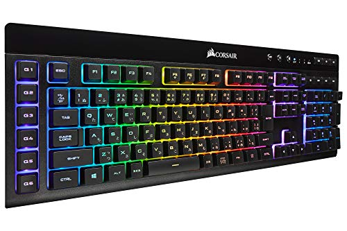 Corsair K57 RGB WIRELESS 日本語配列 ゲーミングキーボード Bluetooth 無線 有線 対応 KB481 CH-925C015-JP