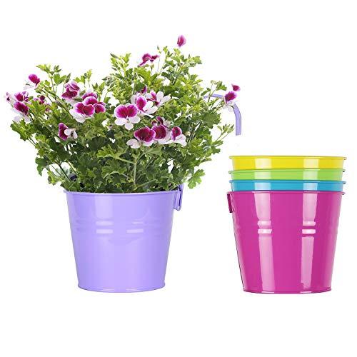 ROSOLI Large Hanging Flower Pots...