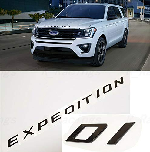 Cibo Gloss Black Front Hood fit for EXPEDITION Letters Emblem FIT 2018-2020 EXPEDITION