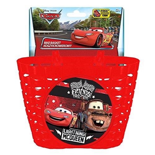 Disney Niños Bicicleta Cesta Cars, más Colores, S