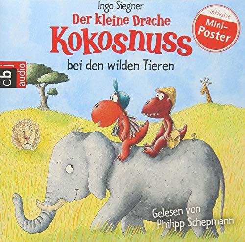 Der kleine Drache Kokosnuss bei den wilden Tieren (Die Abenteuer des kleinen Drachen Kokosnuss, Band 25)