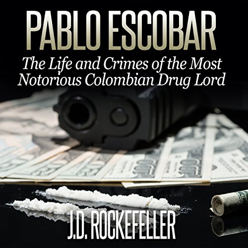 Pablo Escobar audiobook cover art