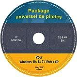 Le CD/DVD Package universel de pilotes pour Windows 10 / 8 / 7 / Vista / XP (32 & 64 Bit)