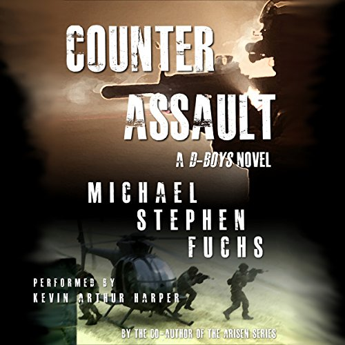 Counter-Assault audiobook cover art