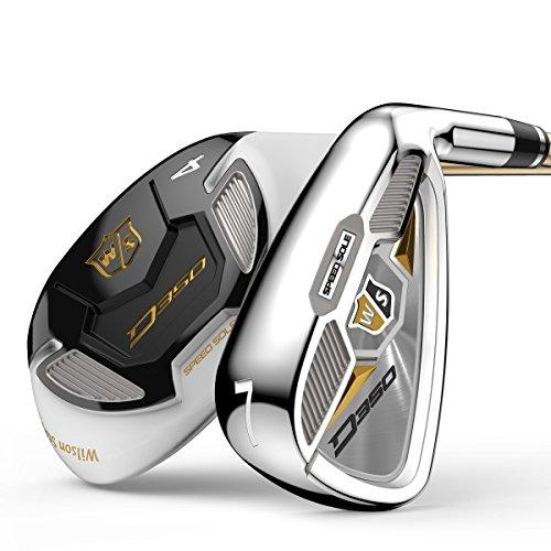 Wilson Golf WGR167830 Fer de Golf Femme, Argent