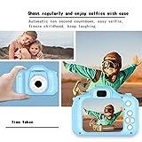 YXDS Cámara Digital para niños con Tarjeta de Memoria de 8g Cámara fotográfica y de Video Multifuncional Regalos para niños Mini cámara