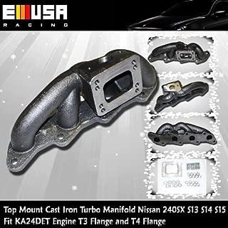 Top Mount Cast Manifold Nissan 240SX KA24DET S13 S14 S15