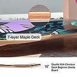 Zoom IMG-2 wyjj skateboard completo da longboard