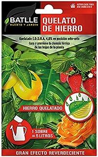 comprar comparacion Abonos - Fertilizante Quelato de Hierro Sobre para 5L - Batlle