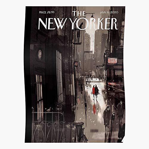 ARCHERS New Newyorker Page Magazine Cover Vintage Yorker School Old The Best and Style Home Decor Wall Art Print Poster with only Size 16x24 inch