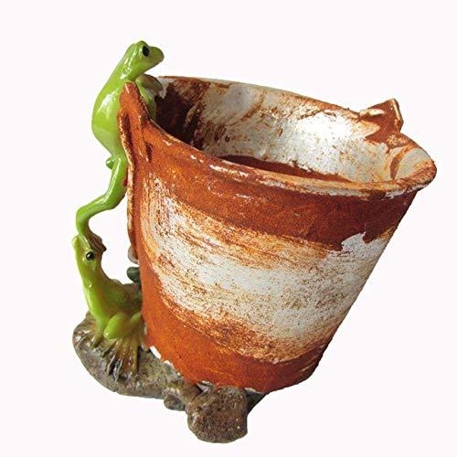 Pkfinrd Standbeeld Sculptuur Ornament Dagelijkse Collectie Groothandel Bloempot Mini Bonsai Decoratie Dier Bloempot Thuis Tuinplanten Potten Voor Succulents,Z10988A