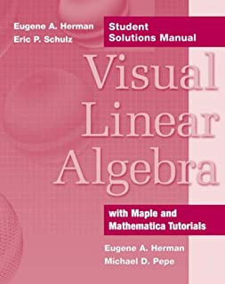 Visual Linear Algebra Student Solutions Manual