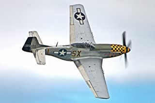 P-51 Mustang - (Jeff Cook) (12x18 Art Print, Wall Decor Travel Poster)