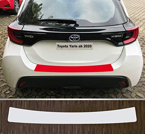 I-Stuning, pellicola protettiva trasparente per la vernice del bordo di carico per Toyota Yaris dal 2020