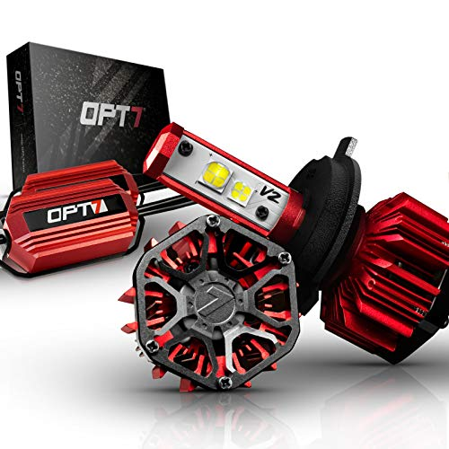 OPT7 FluxBeam H1 LED Headlight Kit w/Clear...
