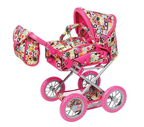 Knorr Toys Knorr63198 Combi Ruby Cochecito con patrón Salvaje de muñecas