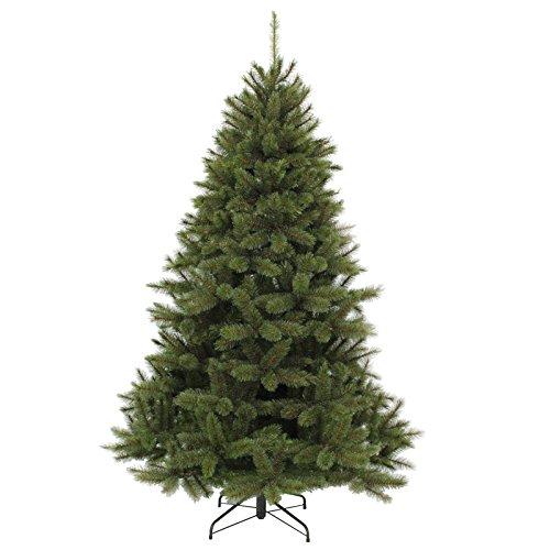 Gartenpirat Tannenbaum künstlich 150cm PE/PVC-Mix Weihnachtsbaum Triumph Tree Bristlecone Nadeln grün mit Frosteffekt