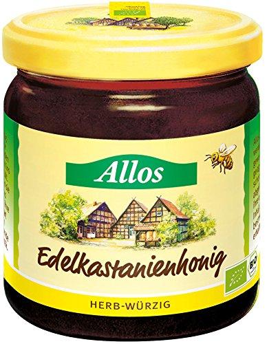 Allos Edelkastanien-Honig, 2er Pack (2 x 500 g)