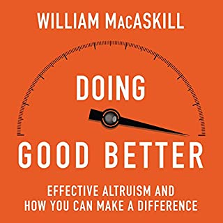 Doing Good Better audiobook cover art