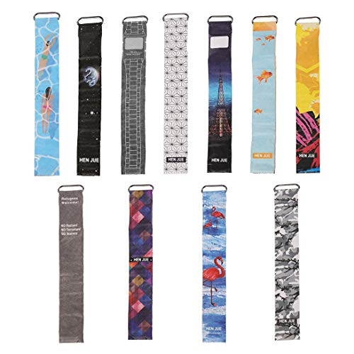 Swiftswan Personalisierte Papier-Uhr-Leben Wasserdicht Uhr Papier Strap Magnetic Verschluss Schnalle Unisex-LED Digital-Uhr für Männer und Frauen