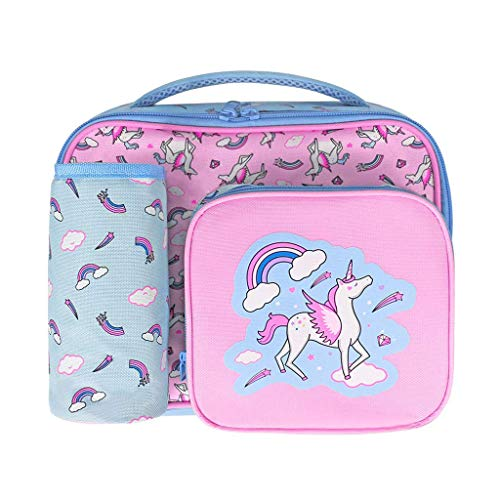Unicorn Lunch Bag for Girls, Kids Lunchbag Insulated Lunch Box Tote Cooler...