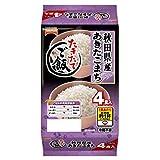 テーブルマーク たきたてご飯 秋田県産あきたこまち (分割) 4食(150g×4) 1ケース(8パック入)
