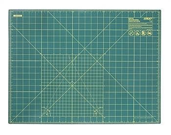 OLFA 9881 RM-SG 18-Inch x 24-Inch Self-Healing Double-Sided Rotary Mat  Green