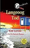 Langeoog Tod Großdruck: 2. Fall für Kathrin Hansen