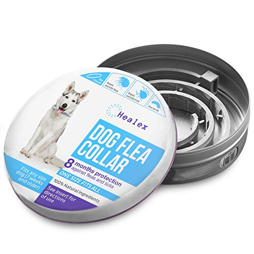 Healex Dog Flea Collar for Flea and Tick Treatment and Prevention | One Size...