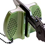 ALPHA TEK Pocket Knife Sharpener: Tungsten Carbide and Ceramic - for...