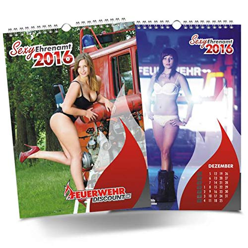 Feuerwehr Kalender Sexy Ehrenamt 2016