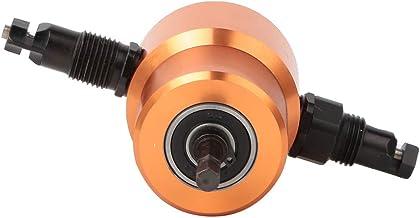 Cortador de placa de metal, Cortador de chapa de cabeça dupla 360 °, para DIY Automóvel HVAC Tubos de ventilação Corte de ...