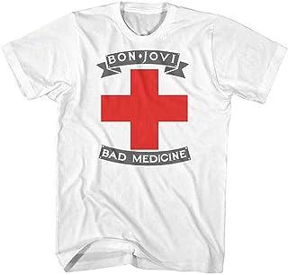 BON JOVI ボン・ジョヴィ (デビュー35周年記念) - BAD MEDICINE/Tシャツ/メンズ 【公式/オフィシャル】