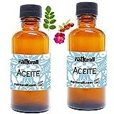 Aceite Rosa Mosqueta Y Aceite De Moringa Paquete con 2 pz de 60 ml c/u