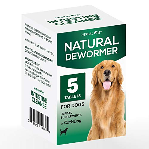 HERBALPET 8in1 Health Supplements Natural Dog Dewormer