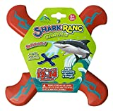 Shark Rang Red Boomerang - Great Beginner Boomerang for Kids or Adults. Soft and Safe.