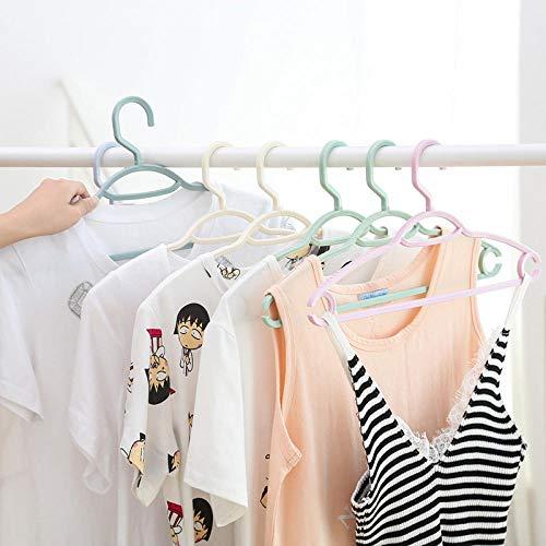 10 verpakkingen multifunctionele, hoogwaardige, creatieve kleerhangers, antislip kleerhangers, kleerhangers voor volwassenen, naadloze kledingstandaard, kunststof beugel T.