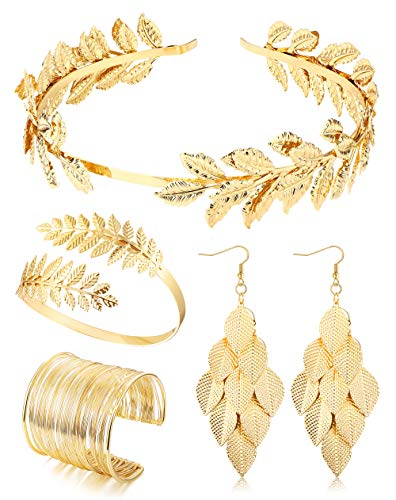 Jstyle Grecian Goddess Costume Accessories Set for...