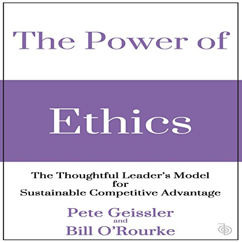 The Power of Ethics audiobook cover art