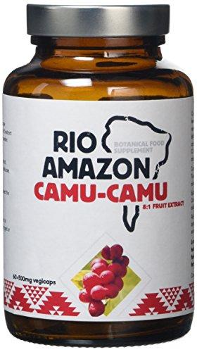 Rio Amazon 500mg Camu-Camu - Pack of 60 Vegetarian Capsules