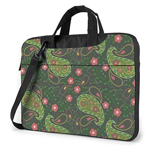 Bandana Paisley Cute Laptop Case Laptop Shoulder Messenger Bag Sleeve para 13 a 15.6 Pulgadas