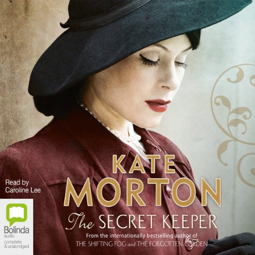 The Secret Keeper audiobook cover art